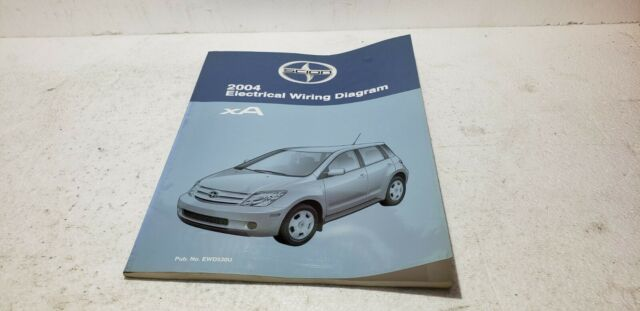 2004 Scion Xa Oem Dealer Shop Electronic Wiring Diagram