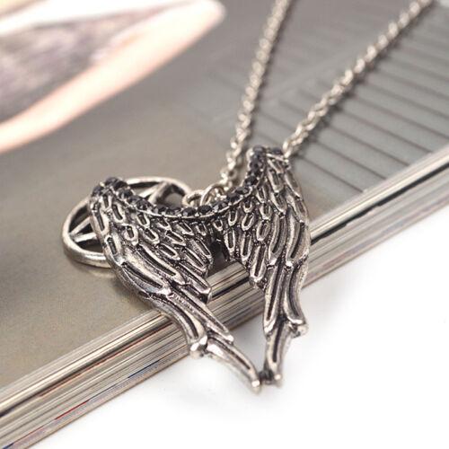 Populaire Pentagramme Bronze Antique Silver Collier amulette pour conjurer la malchance NEUF