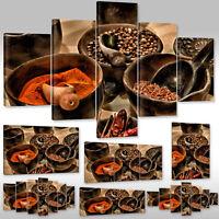 Leinwandbild Canvas Wandbilder Kunstdruck Für Küche Gewürze Aus Aller Welt Xxl