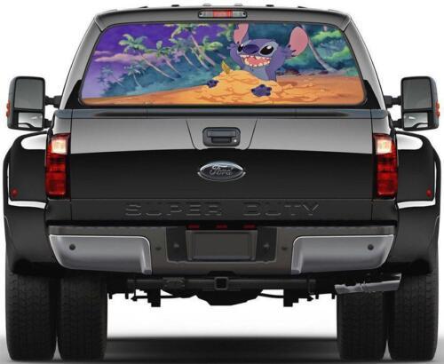 Lilo /& Stitch Rear Window Decal Graphic Sticker Car Truck SUV Van Disney 411