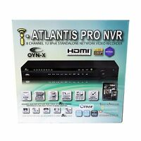 Nvr 8 Ch Network Video Recorder 2mp Full Hd Real Time Poe Iphone Ipad Android