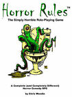 Horror Rules, the Simply Horrible Roleplaying Game by Chris Weedin (Paperback, 2003)