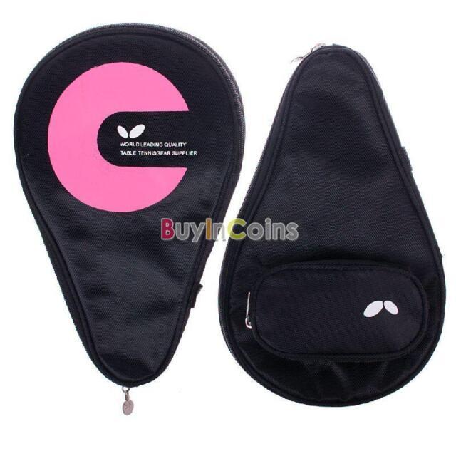 Good Racket Case Bag Waterproof Table Tennis For 2 Ping Pong Paddle Bat shca