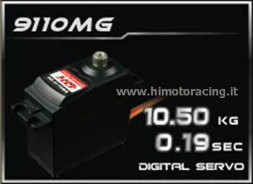 9110MG  SERVO DIGITALE 10.5 kg energia HD 4,5V 6V INGRANAGGI IN METtuttiO METAL GEAR  fabbrica diretta
