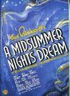 Midsummer Night's Dream 1935 With James Cagney DVD Region 1 012569591226