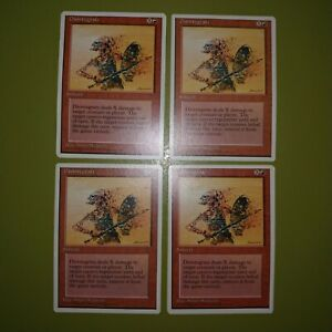 Disintegrate-x4-4th-Fourth-Edition-4x-Playset-Magic-the-Gathering-MTG