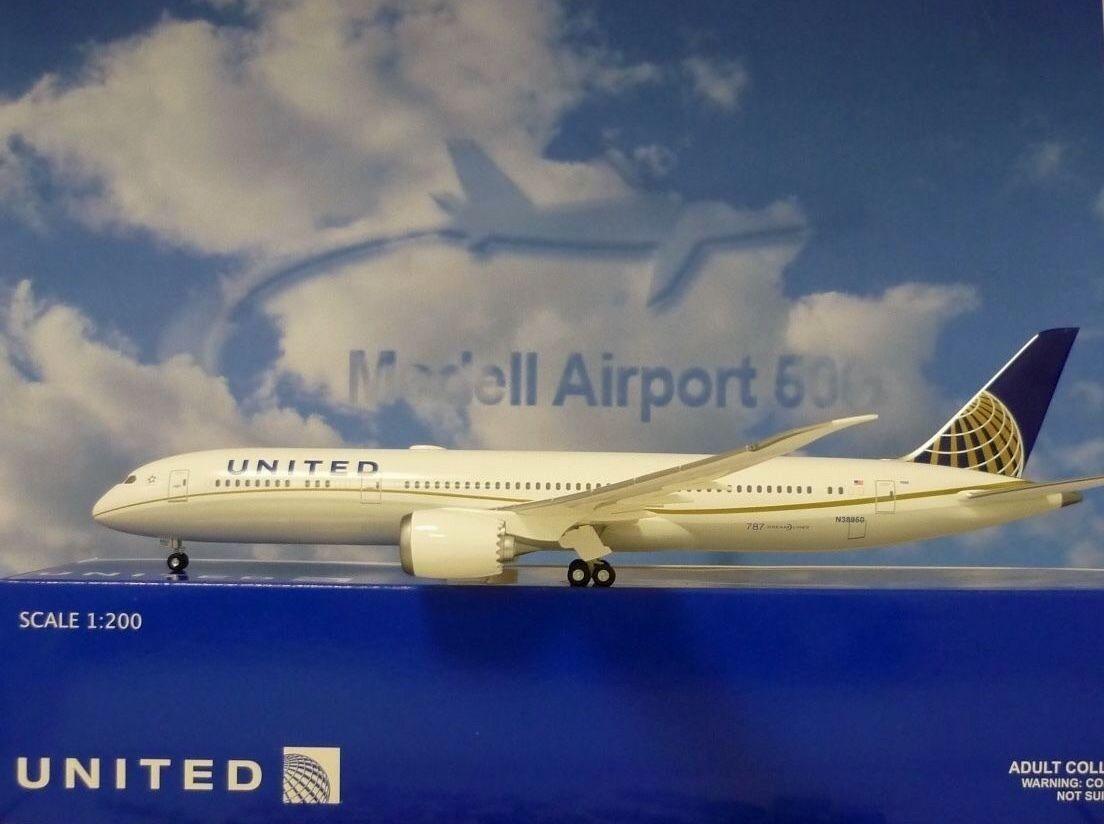 Hogan Wings 1 200 Boeing 787-9 United Airline LI0069 Herpa Wings Catalogue