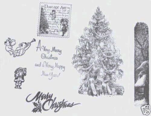 SELECTION OF ACRYLIC AND RUBBER UNMOUNTED STAMPS 24 DESIGNS FROM TOP NAMES