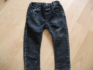 ** Bébés Next Noir Effet Vieilli Jeans Âge 9-12 Mois Bon état **-afficher Le Titre D'origine Nourrir Les Reins Soulager Le Rhumatisme