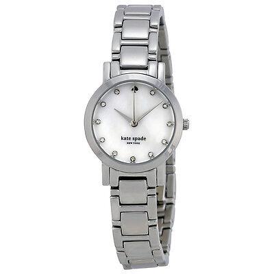 Kate Spade Gramercy Mini Mother of Pearl Dial Stainless Steel Ladies Watch