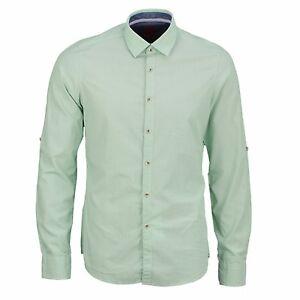 Shirts & Hemden Olymp Casual Freizeit Hemd blau grün weiß