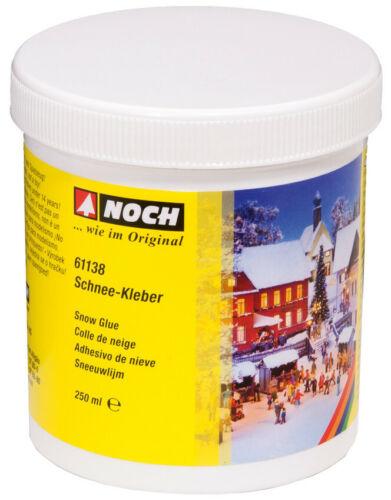 spezieller Kleber 100g//€3,19 Modelleisenbahn Schnee Kleber 250 g Noch 61138