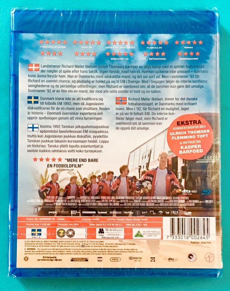 Sommeren '92, Blu-ray, drama