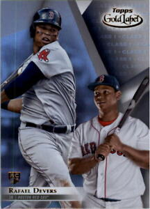 Details About 2018 Topps Gold Label Class 1 Baseball Card Pick