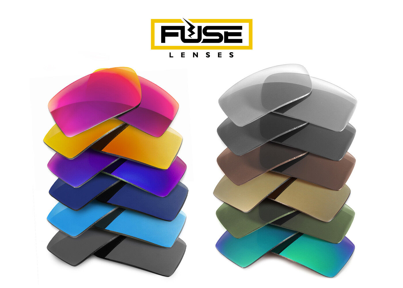 Plus Replacement Lenses for Revo Holsby RE1019 Fuse Lenses Fuse