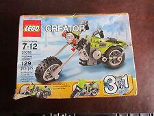 LEGO Creator 31018 3 in 1 Highway Cruiser 129 pcs bike motorcycle building toy