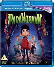 PARANORMAN  - BLU-RAY - REGION B UK