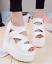 Womens-High-Platform-Peep-Toe-Hidden-Wedge-Heel-Sandals-Hollow-Out-Roman-Shoes thumbnail 3