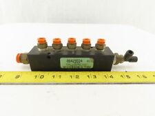Alumi Tec Am 3 5 5 Port 14 X 38 Pneumatic Hydraulic Manifold