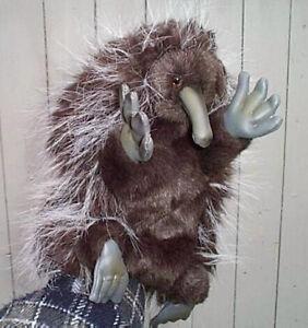 Handpuppe Echidna  Australien  top Qualität  27cm sehr weich Ameisenigel