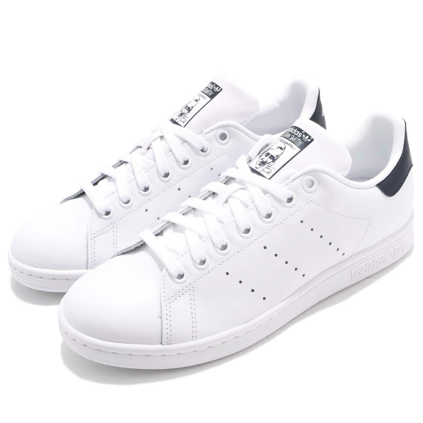 Adidas Originals Casual Stan Smith White Navy Uomo Casual Originals Scarpe Scarpe da Ginnastica M20325 4f41ea