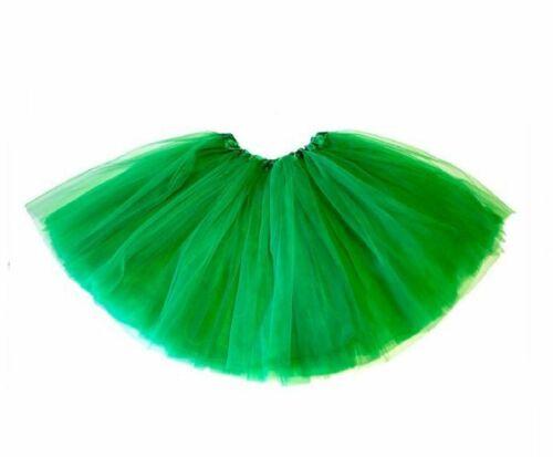 Ladies Girls ST PATRICKS DAY TUTU COSTUME Fancy Dress Outfit Irish Leprechaun UK