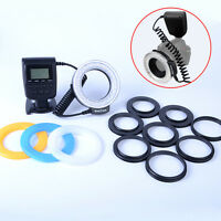 Rf-550d Led Macro Ring Flash Light For Canon Nikon Pentax Olympus Dslr Camera