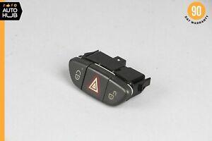 03-06 Mercedes R230 SL500 SL65 AMG Hazard Door Lock Unlock Button Black OEM