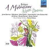 Benjamin Britten - : A Midsummer Night's Dream (2x CD Box Set 2007) NEW & SEALED