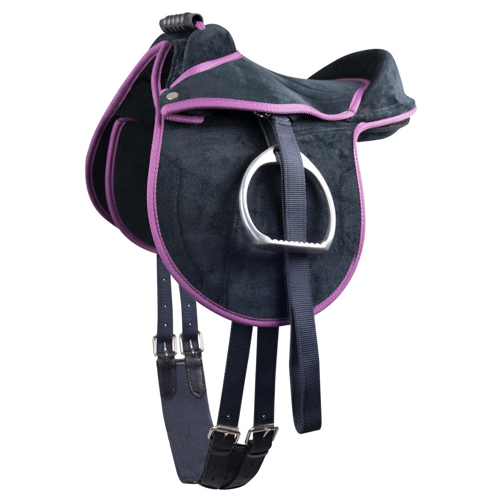 Sattel für Pferd Pony oder Shetland mit Griff für Kinder