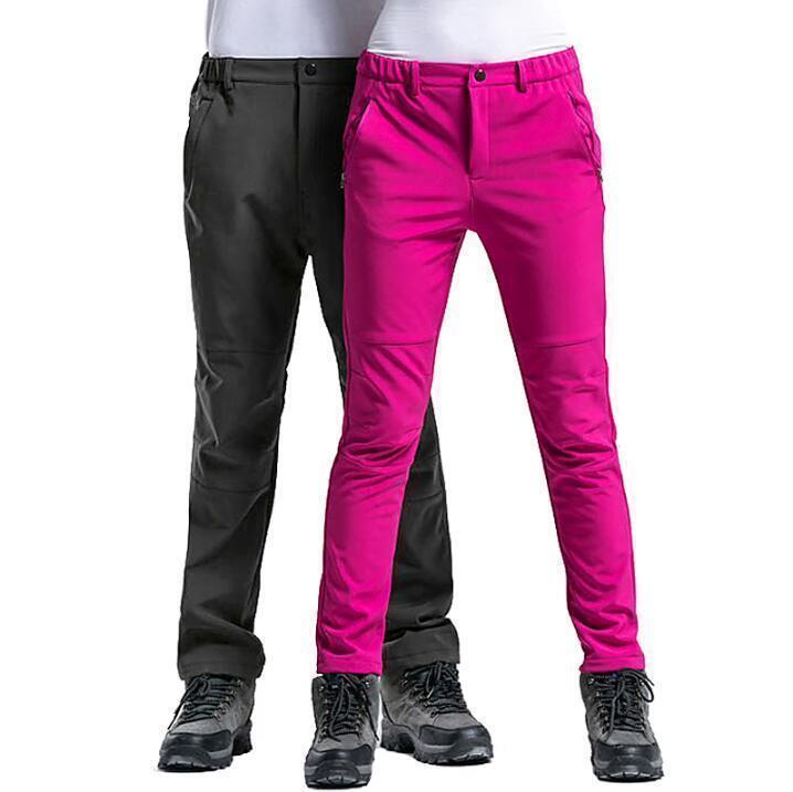 Pants Outdoor Waterproof Womens Men's Slim Fit Trousers Hiking  Sz S-3XL mgic