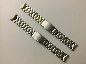 Image Is Loading 18mm Watch Band Stainless Steel Bracelet For Omega