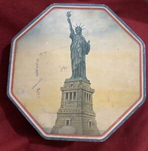 Vintage-Statue-Of-Liberty-Loose-Wiles-Biscuit-Co-Tin-New-York