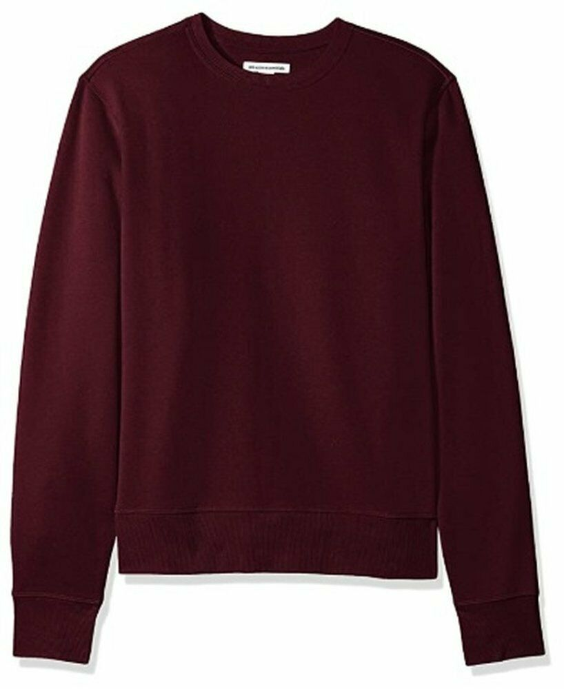 Amazon Essentials Men's Long-Sleeve Crewneck Fleece Sweatshirt Size Medium