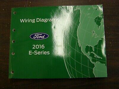 OEM Ford 2016 Econoline Van Shop Manual Wiring Diagram ...