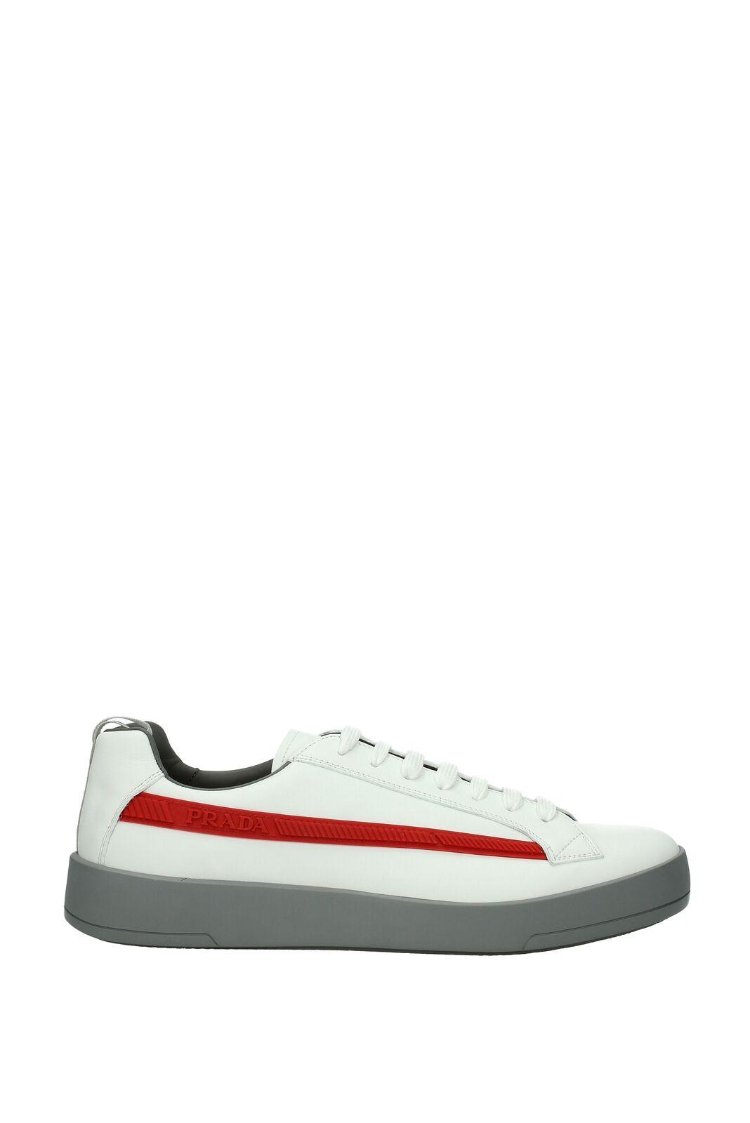 Sneakers Prada Men - Leather (4E3196VITELLOPLUME)