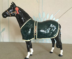 BESWICK-HORSE-CHAMPION-WELSH-MOUNTAIN-PONY-BCC-1999-BLACK-GLOSS-A247-PERFECT