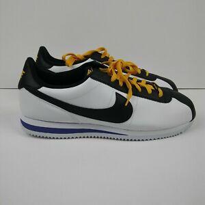 Details about NIKE Cortez Shoes Black White Purple Yellow L.A. Lakers  Colorway Men's Size 12