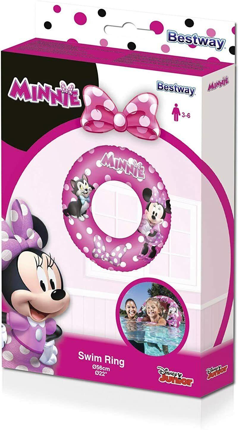 Swim Inflatable Cute Minnie Mouse 56 CM Pool Sea Girls Bestway