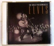 CD THE GREAT PERFORMANCES - Elvis Presley