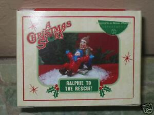 RALPHIE TO THE RESCUE ~ Dept 56 ~ A Christmas Story