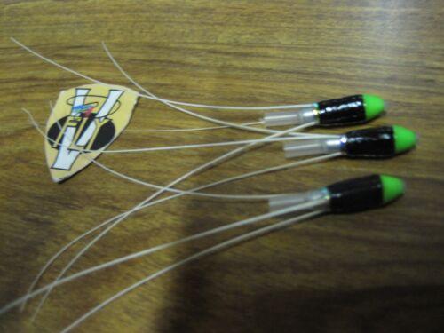 3 V Fly 1//2 pouces Islandais Conehead Zelda Francis Salmon Tube Mouche /& triples