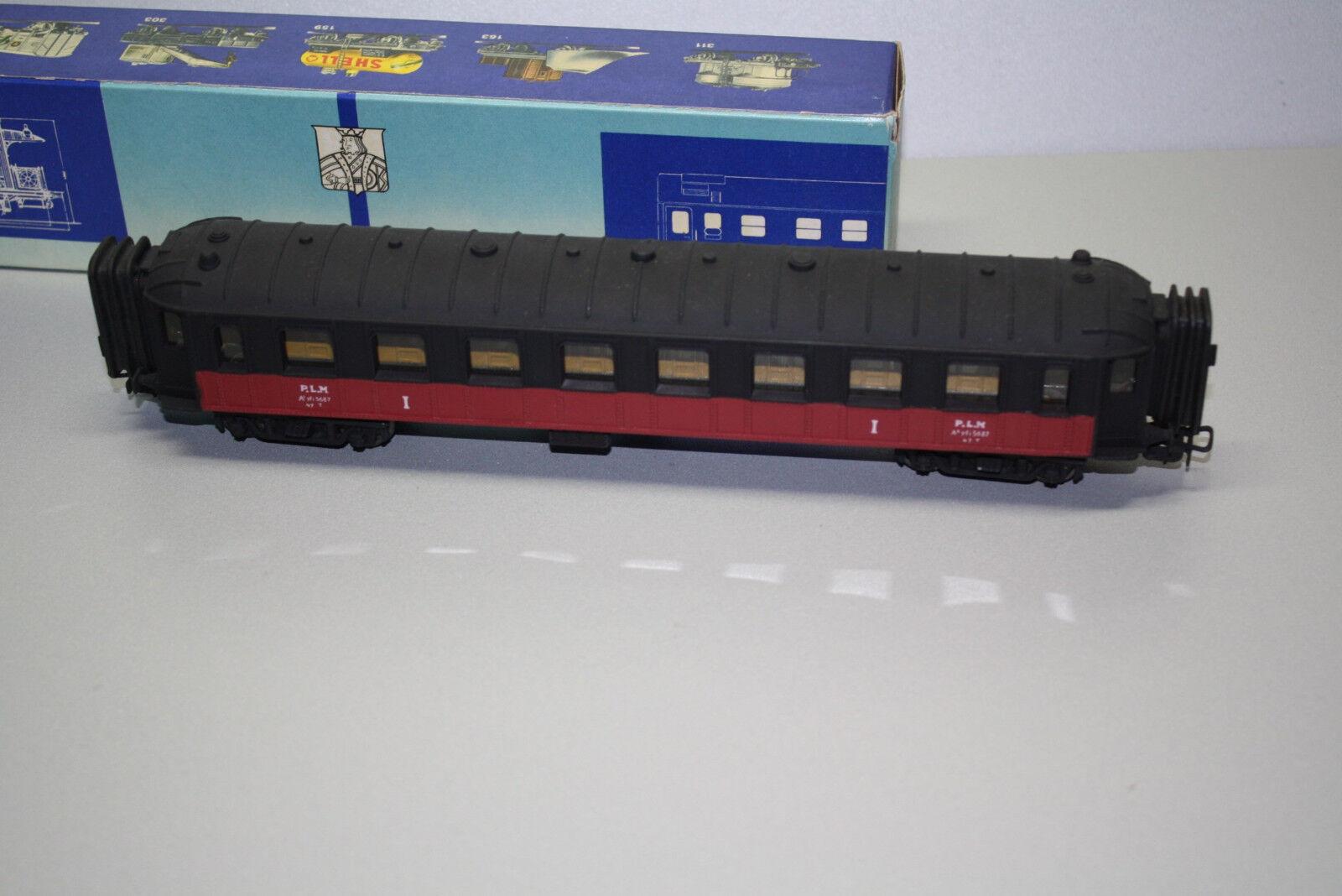 Pocher Pocher Pocher 225 3 4-Achser Personenwagen 1.Klasse Plm Spur H0 OVP    Klein und fein  eb6e9f