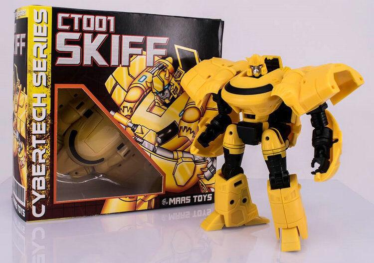 [Toys Hero] Maas Toys Toys Toys Robot Cybertech Series CT001 Skiff Bumblebee Yellow Ver. ac0