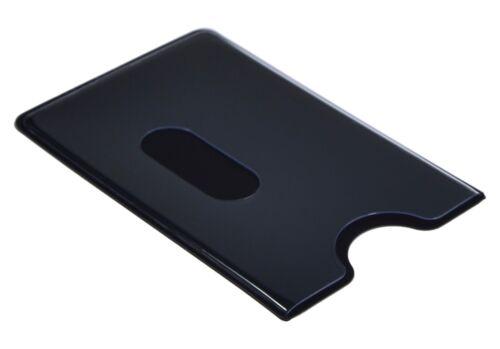 EC Kartenhülle Schwarz Transparent STABIL Kreditkartenhülle Scheckkartenbox 1A