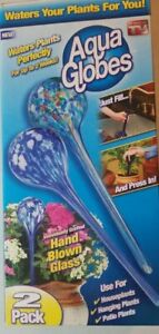 Aqua-Globe-Plant-Waterer-2-Pack-As-Seen-on-TV-New