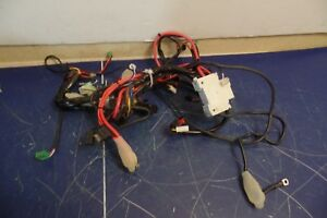 Details about Complete Electrical/ Battery Wiring Harness Permobil on