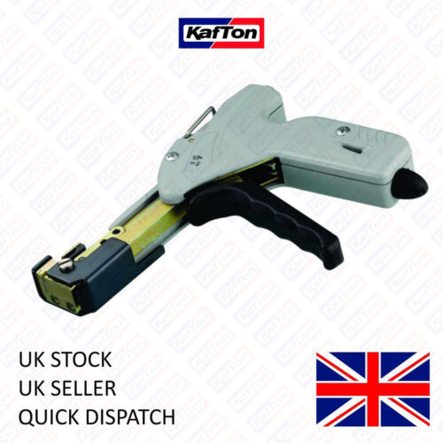 Stainless Steel Cable Tie Tensioner and Cutter Ties Wrap Gun Up to 7.9mm