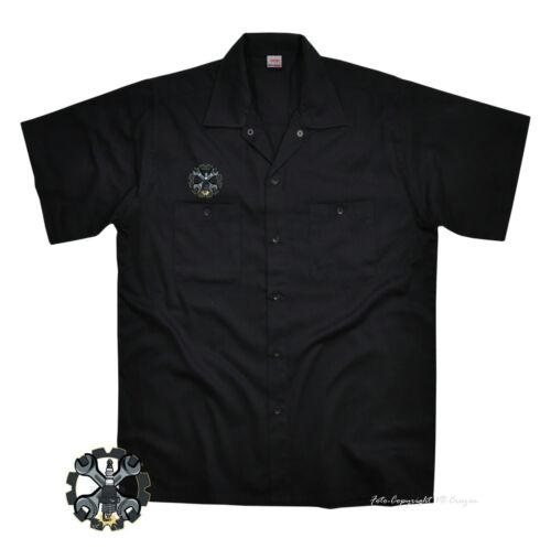 Hot Rod hemd kustom Racing Shop work Werkstatt Worker-Shirt tuning *1087 bl.