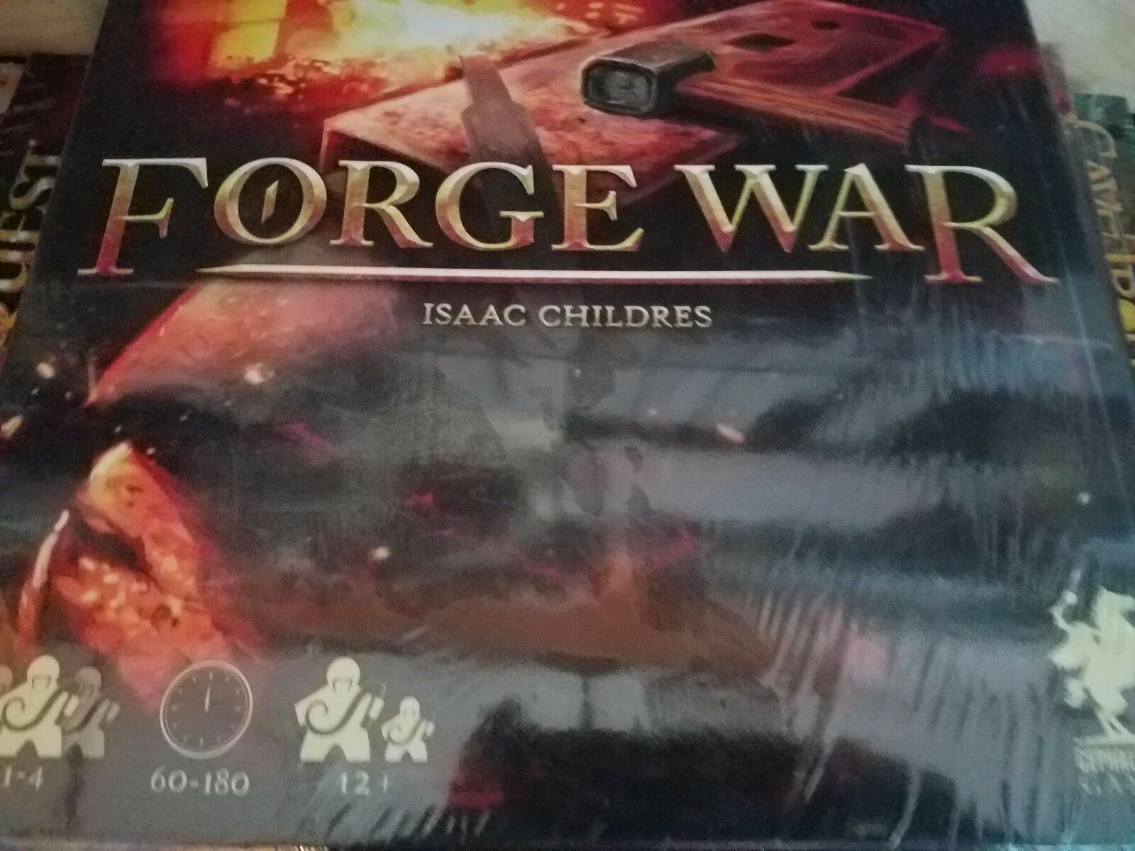 Forge War - Cephalofair Games Board Board Board Game New bedfce
